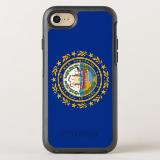 New Hampshire's Flag OtterBox Symmetry iPhone 8/7 Case