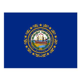 New Hampshire's Flag Postcard