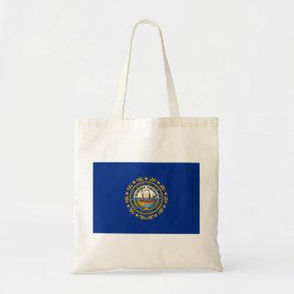 New Hampshire's Flag Tote Bag