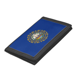 New Hampshire's Flag Trifold Wallet