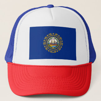 New Hampshire's Flag Trucker Hat