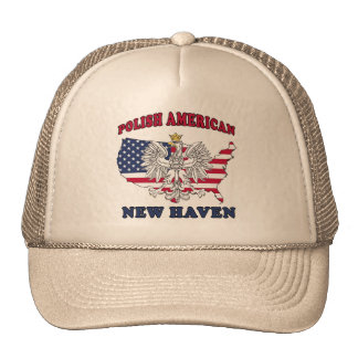 New Haven Connecticut Polish Trucker Hat