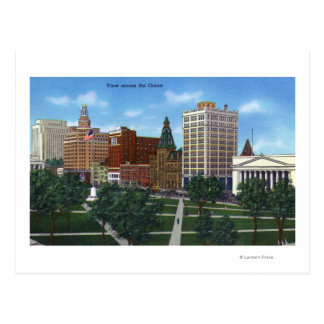 New Haven, CTView from across the Green Postcard