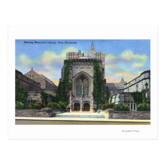 New Haven, CTYale Sterling Memorial Library Postcard