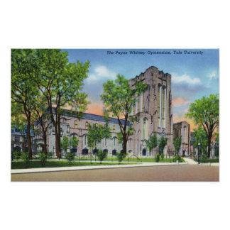 New Haven, CTYale University Payne Whitney Gym Poster