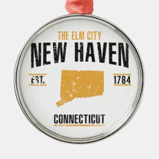 New Haven Metal Ornament