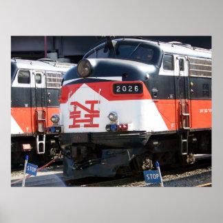 New Haven Railroad  ( C- DOT ) FL 9M 2026 Poster