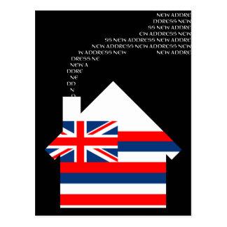 new hawaii address postcard