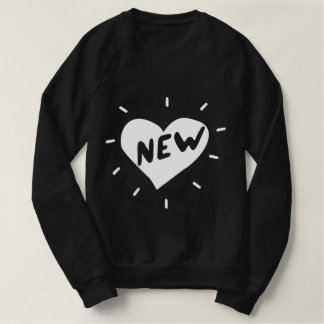 New Heart / Men's American Apparel Sweatshirt