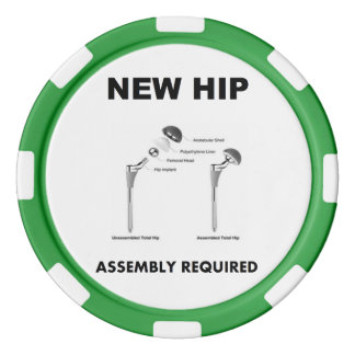 New Hip - Assembly Required Set Of Poker Chips