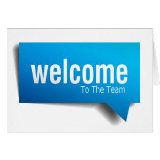 New Hire Series - Welcome To The Team - BBubble Card