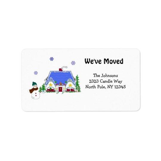 New Home Address Label