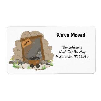 New Home Address Mining Cave