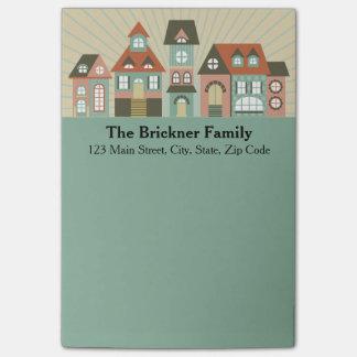New Home Address Personalized Notepads