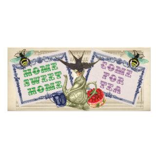 New Home Announcement Rack Card