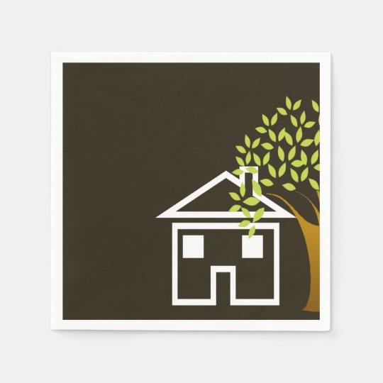 New Home Napkins Paper Napkin