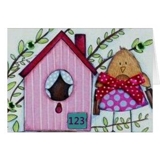 NEW HOME, NEW DREAMS, NEW FRIENDS-CONGRATULATIONS GREETING CARD
