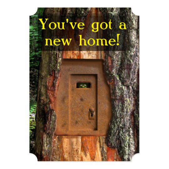 NEW HOME TROLL DOOR CARD