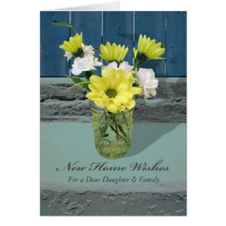 New Home Wishes for Daughter and Son-in-Law Card