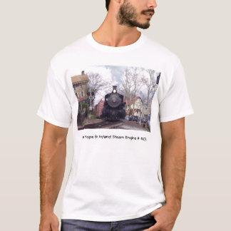 New Hope & Ivyland Railroad  Steam Engine # 40 T-Shirt