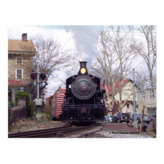 New Hope & Ivyland Steam Engine # 40 Postcard