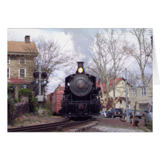New Hope & Ivyland Steam Engine # 40 Thank You Card