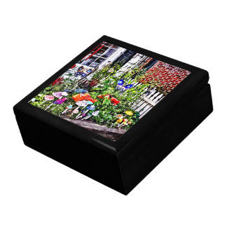 New Hope Pa - Garden Of Ceramic Mushrooms Gift Box