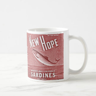new hope sardines coffee mug