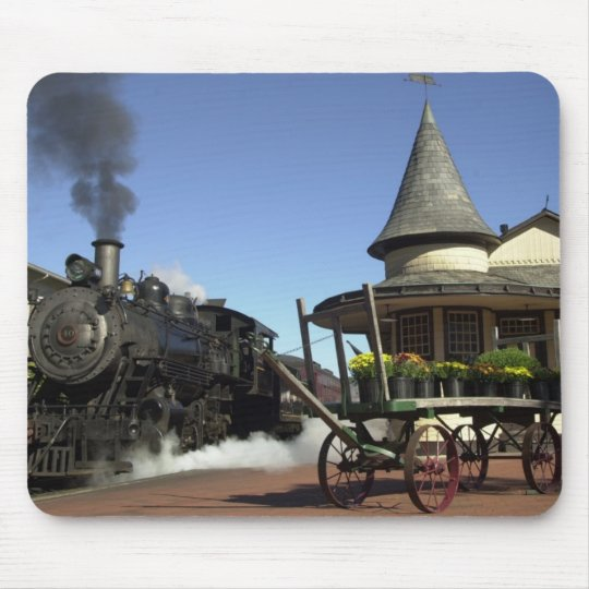 New Hope Train Station Mouse Pad
