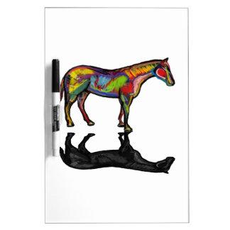 NEW HORIZON HORSE DRY ERASE BOARDS