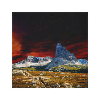 New Horizon X Canvas Print