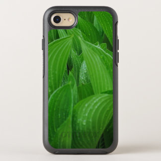 New Hosta Leaves with Raindrops OtterBox Symmetry iPhone 8/7 Case