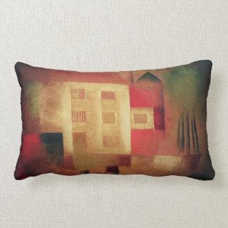 New House In the Suburbs Lumbar Pillow