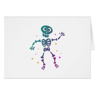 New in shop : Dancing skeleton / Fresh edition Card