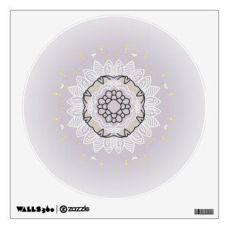 New in Shop : wall Decay with hand-drawn Mandala Wall Decal