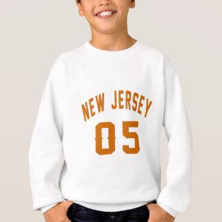 New Jersey  05 Birthday Designs Sweatshirt