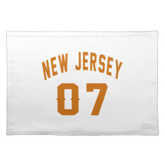 New Jersey  07 Birthday Designs Placemat