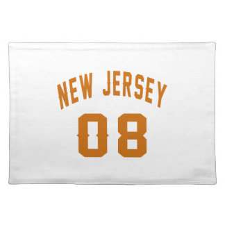 New Jersey  08 Birthday Designs Placemat