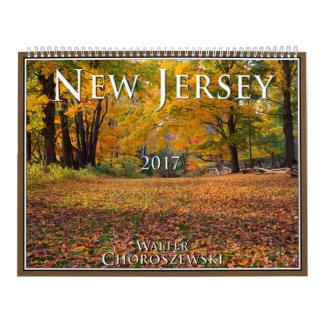 NEW JERSEY 2017 | Walter Choroszewski Wall Calendars