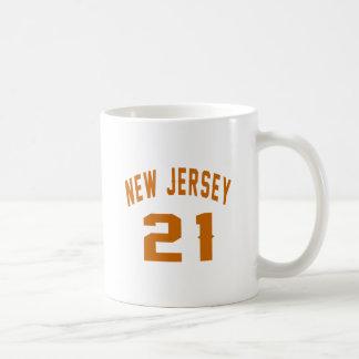 New Jersey  21 Birthday Designs Coffee Mug