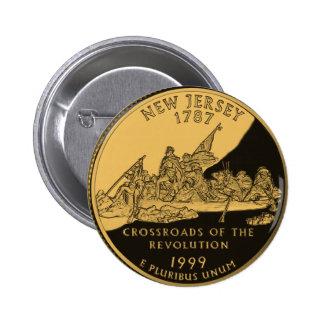 New Jersey 2 Inch Round Button