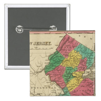 New Jersey 3 2 Inch Square Button