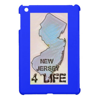 """New Jersey 4 Life"" State Map Pride Design iPad Mini Covers"