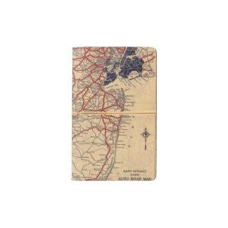 New Jersey 6 Pocket Moleskine Notebook
