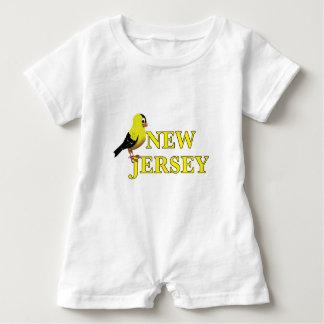 NEW JERSEY BABY ROMPER