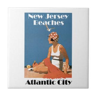 New Jersey Beaches ~ Atlantic City Tiles