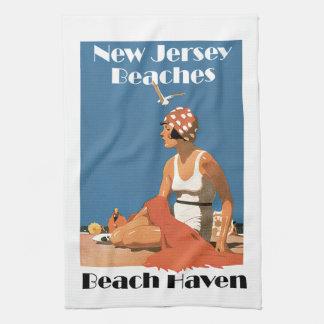 New Jersey Beaches ~ Beach Haven Kitchen Towel