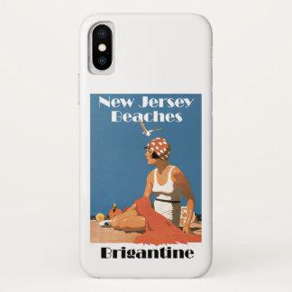 New Jersey Beaches ~ Brigantine iPhone X Case