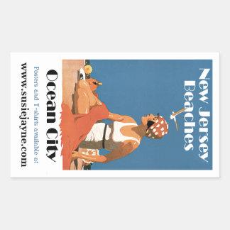 New Jersey Beaches ~ Ocean City Sticker