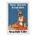 New Jersey Beaches ~Sea Isle City Poster